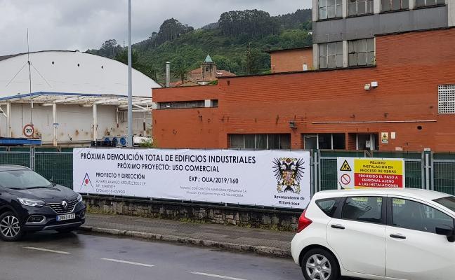 Las demolición de la antigua fábrica de Nestlé empezará en poco más de un mes