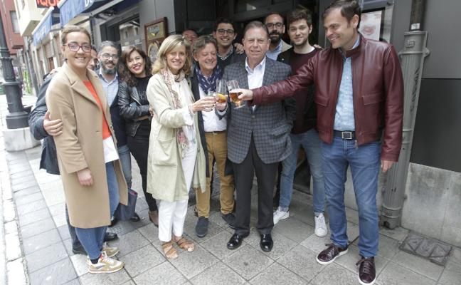 «Hablaremos para garantizar el mejor gobierno para Oviedo pero sin prisa»