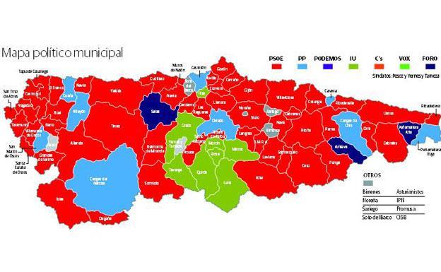 Elecciones Municipales 26m En Asturias Como Votaron Los Concejos