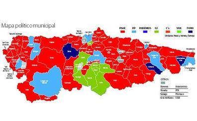 Elecciones municipales 26M en Asturias: ¿Cómo votaron los concejos más ricos y los más pobres?