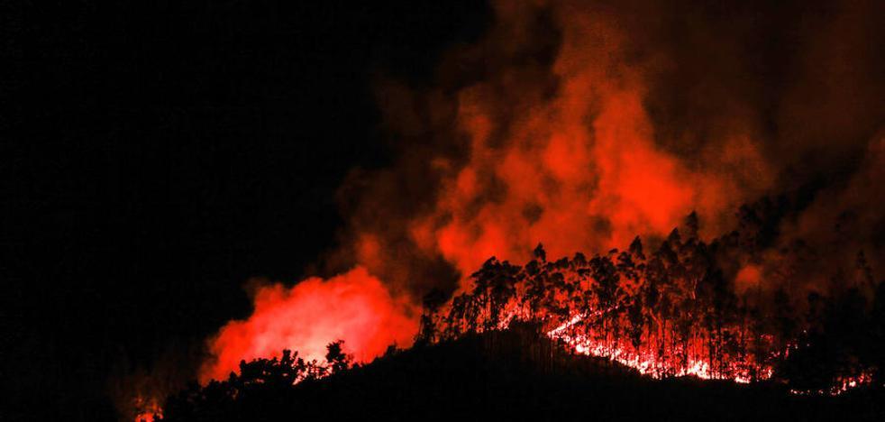 Incendios en el paraíso natural