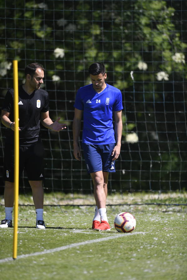 Entrenamiento del Real Oviedo 29/05/2019
