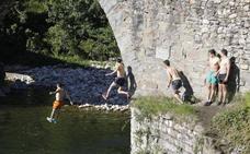 Verano anticipado en Asturias