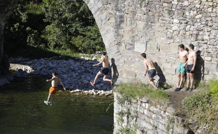 Asturias disfruta de un pequeño anticipo del verano