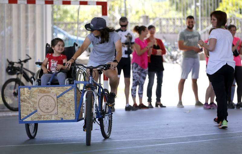 El colegio Jacinto Benavente de Gijón apuesta por la movilidad sostenible