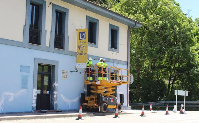 Cabranes finaliza el plan de fachadas con el Museo de Viñón