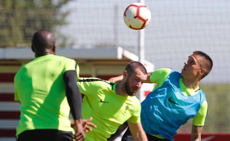Entrenamiento del Sporting (31-05-2019)