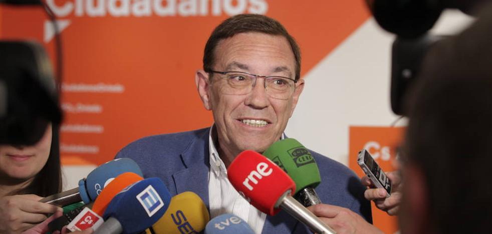 Elecciones en Asturias 26M: Juan Vázquez se desmarca de la línea oficial de Ciudadanos y se abre a pactar con el PSOE