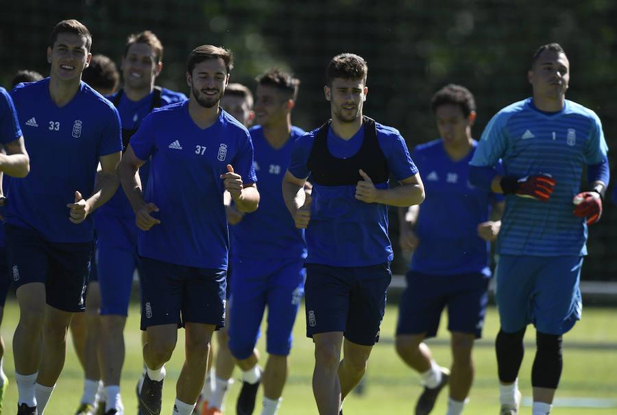 Entrenamiento del Real Oviedo (31/05/2019)