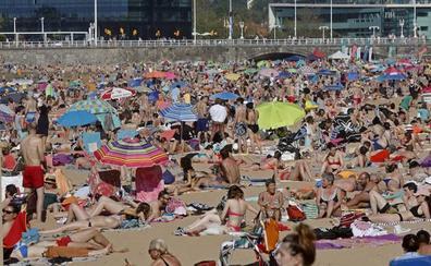 Asturias pasa de los 30 grados en uno de los días más calurosos en lo que va de año
