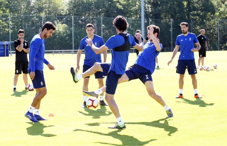 Entrenamiento del Real Oviedo (1/06/2019)