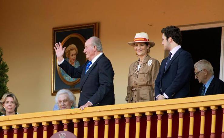 El rey Juan Carlos se despide de la vida pública en Aranjuez