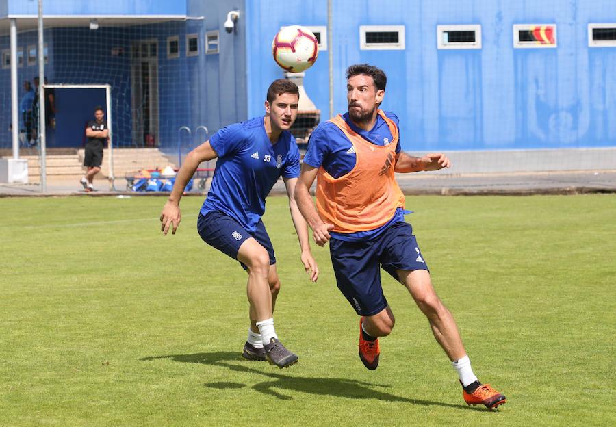 Entrenamiento del Real Oviedo (2/06/2019)
