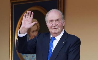 El último acto público de don Juan Carlos