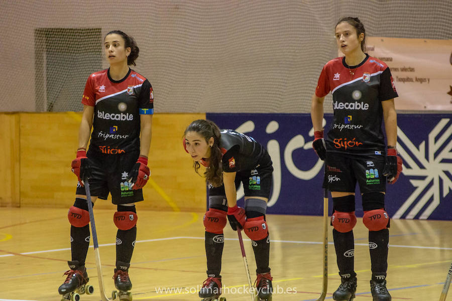 Tres jugadoras del Telecable Hockey disputarán los World Roller Games