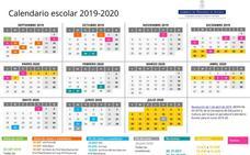 Calendario escolar de Asturias para el curso 2019-2020