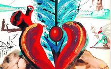 Subastan postales navideñas pintadas por Dalí