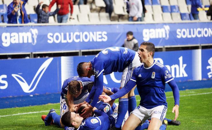 Las mejores imágenes del partido entre el Real Oviedo 4 - 3 Rayo Majadahonda