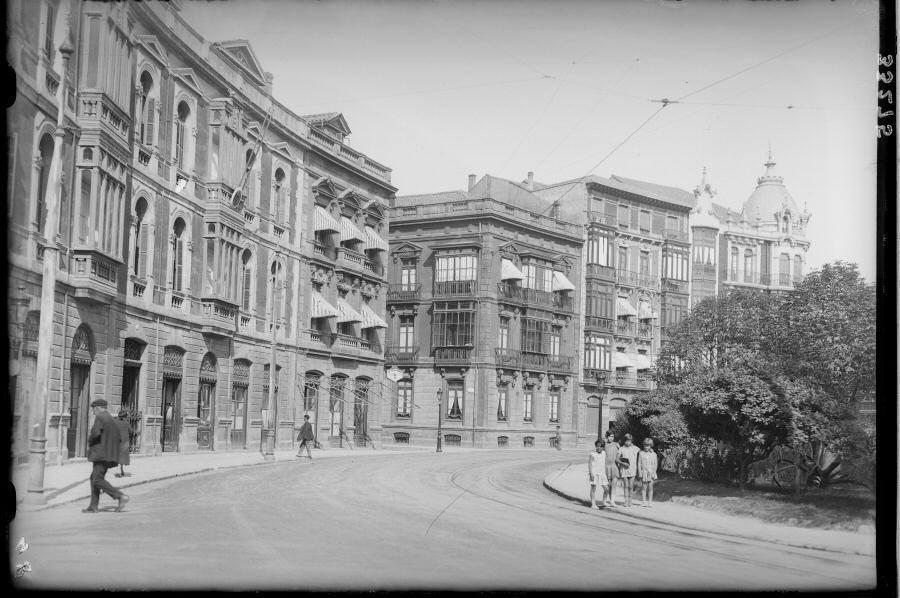 El Gijón de principios del siglo XX