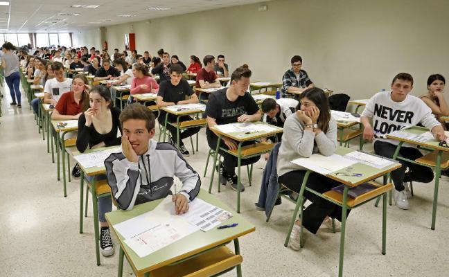 EBAU 2019. Los alumnos defienden que una EBAU común en toda España sería «más justa»