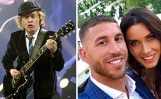 Concierto de AC/DC ...en la boda de Sergio Ramos y Pilar Rubio