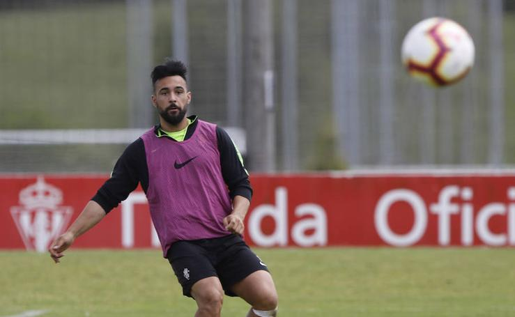 Entrenamiento del Sporting (05-06-2019)