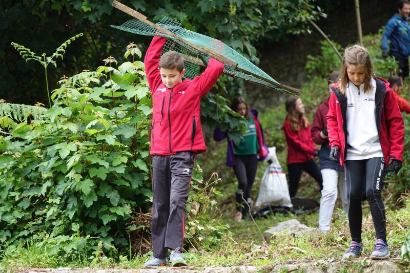 Los escolares asturianos trabajan por el medio ambiente