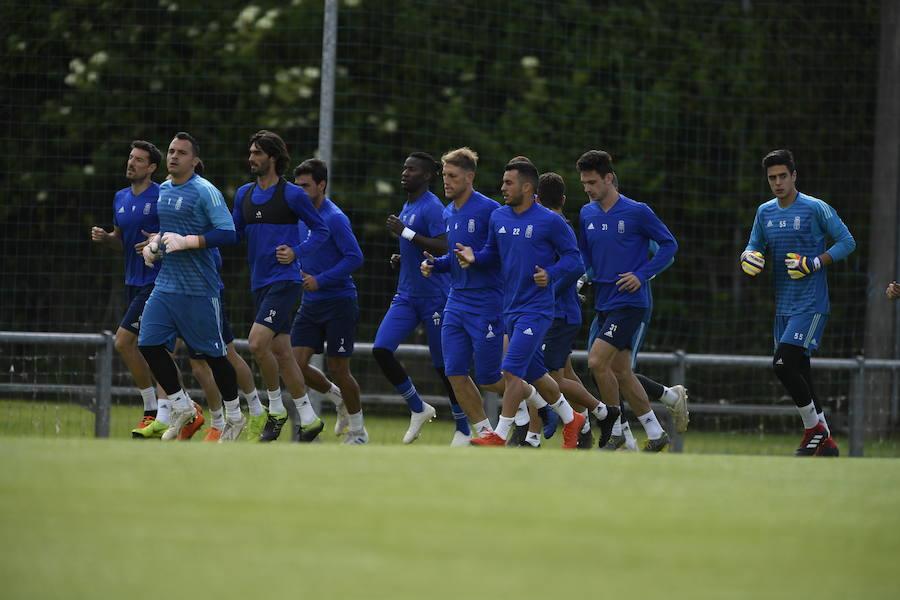 Entrenamiento del Real Oviedo (06-06)
