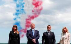 «América nunca ha sido más grande que cuando se bate por la libertad de los otros», dice Macron
