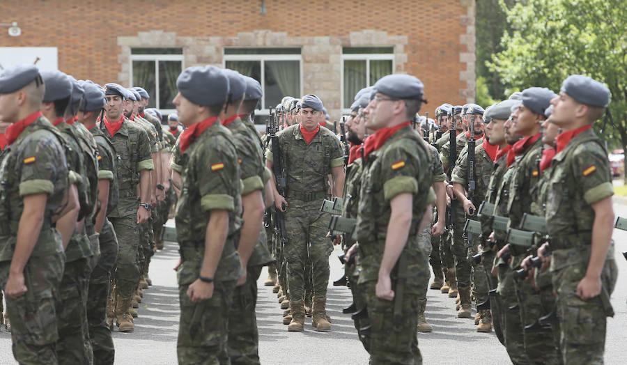 El Regimiento Príncipe 3 conmemora en Cabo Noval el 53 aniversario de la Brilat Galicia VII