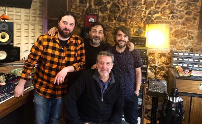 Emilio Aragón graba a José Manuel Tejedor para su nuevo proyecto musical