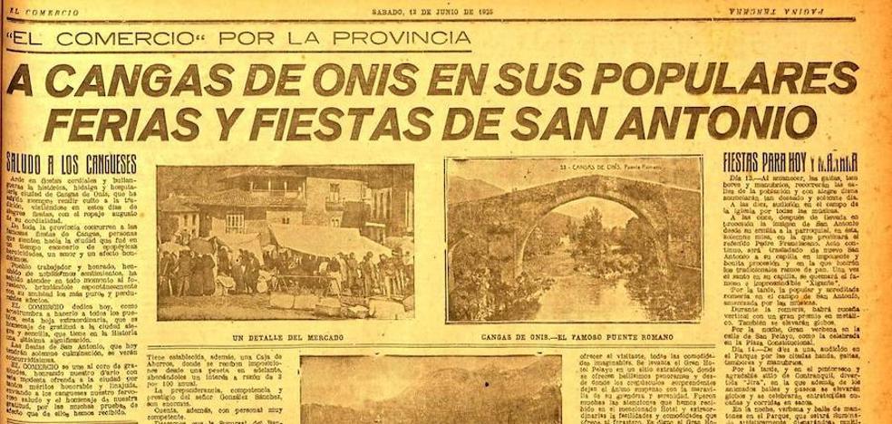 El año en que Cangues no honró a San Antonio