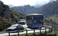 Una marcha cicloturista cortará el acceso a los Lagos de Covadonga este sábado