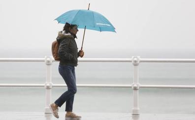 Asturias seguirá agarrada al paraguas el fin de semana