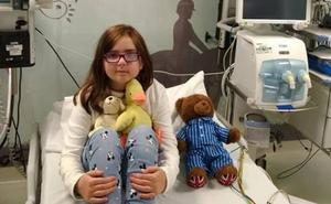 Fallece Paloma Fakoa, la niña con un tumor cerebral que movilizó a La Fresneda