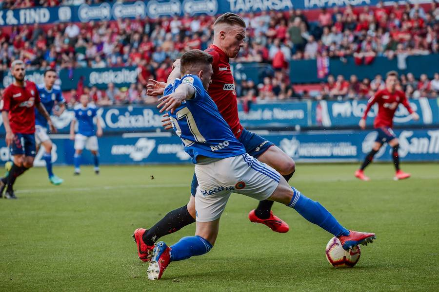 Osasuna - Real Oviedo, en imágenes