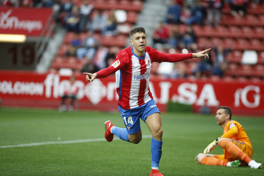 Sporting - Cádiz, en imágenes
