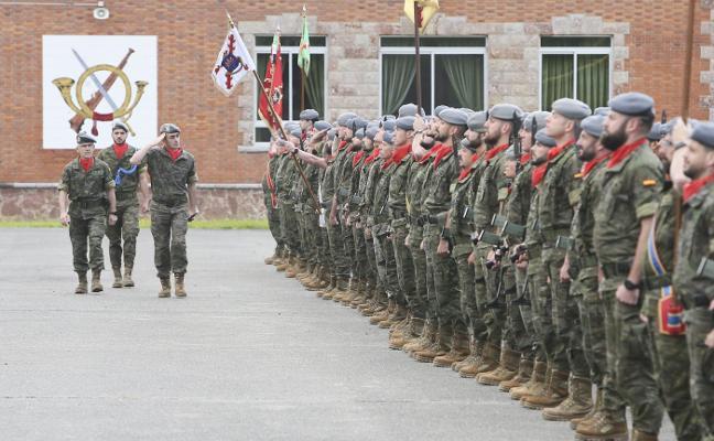 El Regimiento Príncipe III luce músculo