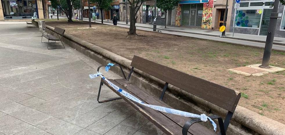 Fallece un joven de 28 años en el parque de la calle Mieres, en Gijón