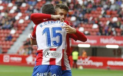 El Sporting homenajea a Canella en El Molinón