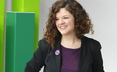 Sofía Castañón, al frente de Cultura en Podemos