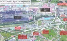 Abren al tráfico los nuevos accesos al PEPA de Avilés