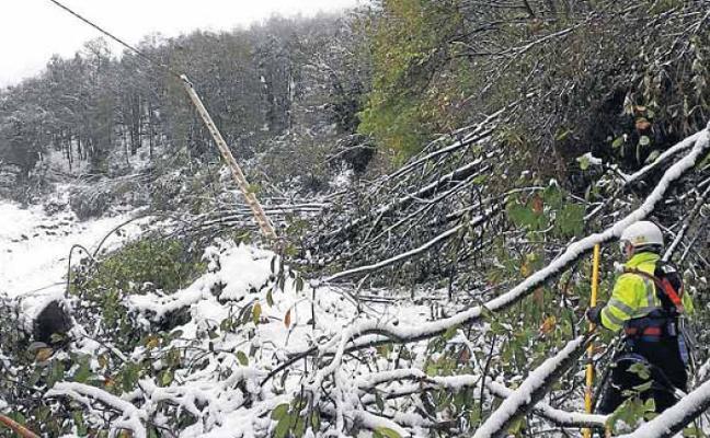 El apagón que dejó sin luz a 15.000 asturianos en octubre se salda sin multas