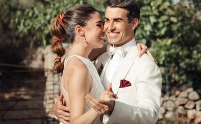 Así ha sido la boda de los actores Candela Serrat y Daniel Muriel