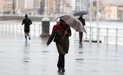 El tiempo en Asturias: una semana de lluvia y temperaturas «realmente frías»