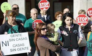 Suben los desahucios en Asturias tras tres años consecutivos de descenso