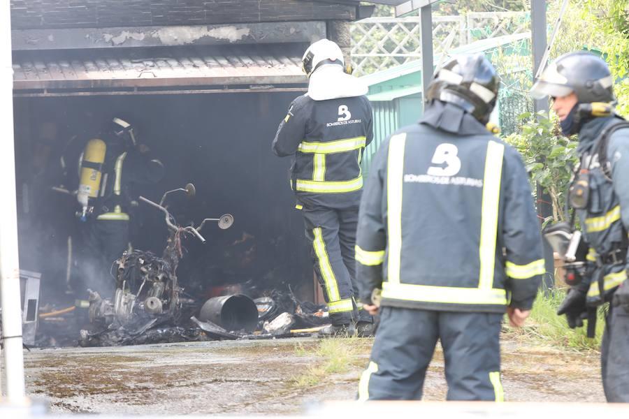«Si los bomberos tardan diez minutos más se nos quema la casa entera»