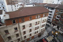 La desaparición de la antigua casa de los militares del barrio de La Arena
