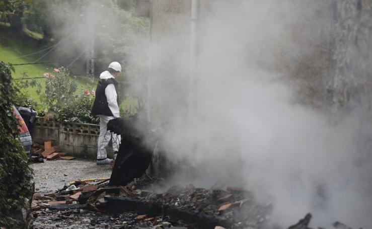 Incendio mortal en Laviana