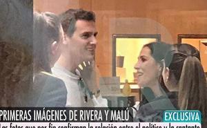 Malú y Rivera, cazados de compras en Madrid